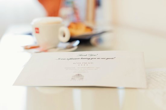 Hotel Paradis: Thank you for choosing our services