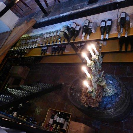 Restaurant Herberg 't Korensant: Korensant wijnkelder