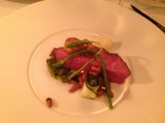 Le Restaurant Amsterdam: Main course meat .... super yummie