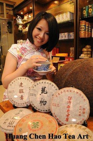 Georgetown, Malasia: Huang Chen Hao Tea Art & Wuyi Tea Art