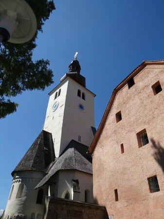 Spanische Hofreitschule Bundesgestut Piber: The church at the castle