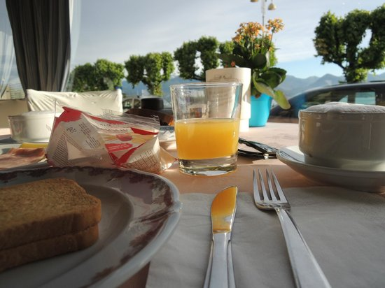 Albergo Sempione: Breakfast