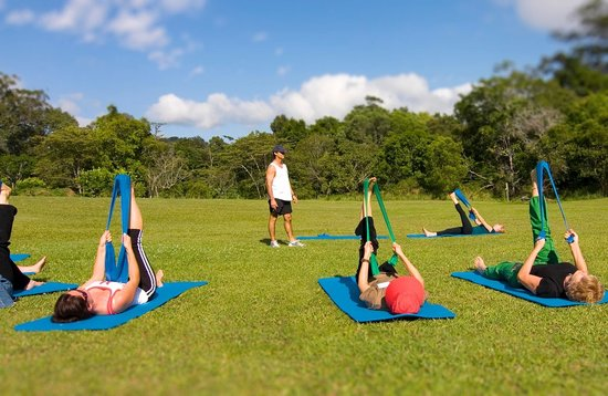 Living Valley Springs Health Retreat : Enjoy morning stretch classes