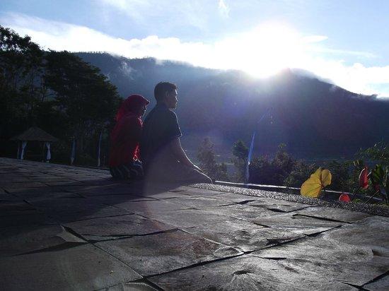 Puri Candikuning Retreat: view from restaurant