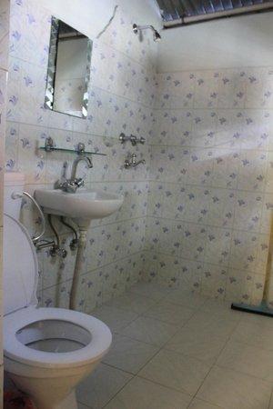 The North Face Inn: Bathroom