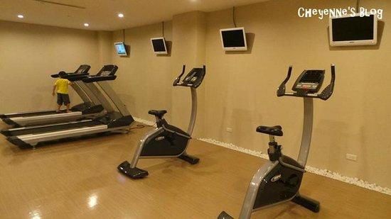 Sol Hotel: 健身房沒什麼人使用