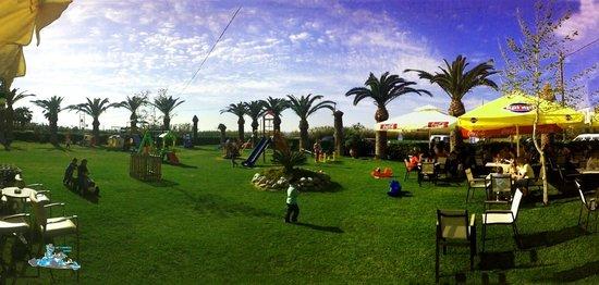 Rethimno Kart: Panorama of the playground