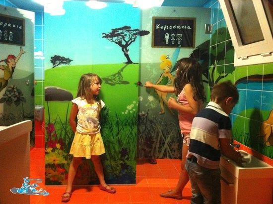 Rethimno Kart: Kids toilet