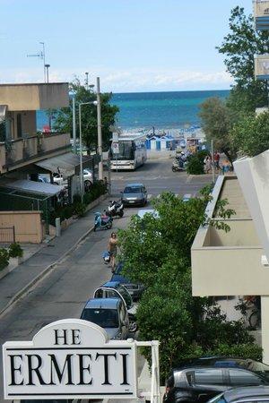 Hotel Ermeti: La vista dalla camera 20