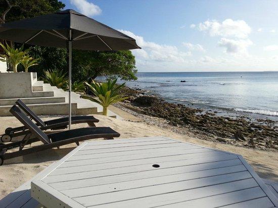 Villa 25: notre plage privée