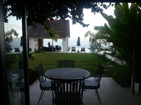 Villa 25: la terrasse