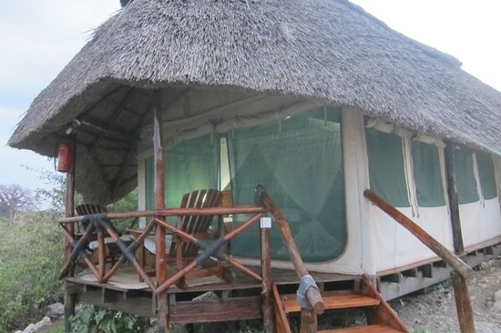 Manyara Wildlife Safari Camp: Tented Chalet
