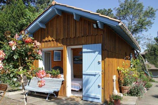 Cap-Ferret, Γαλλία: Chambre bleue