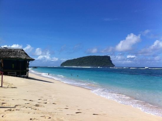 Anita's Beach Bungalows: taken on the sand in front of Anita's