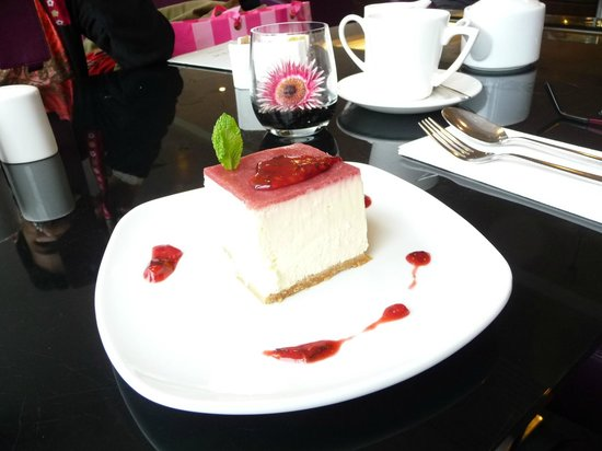 The Brasserie at John Lewis: cheese cake