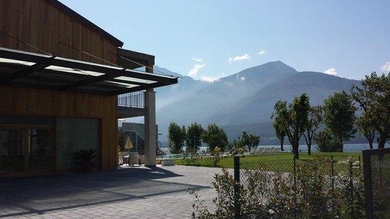 Tullio Hotel: Aussicht Seeseite