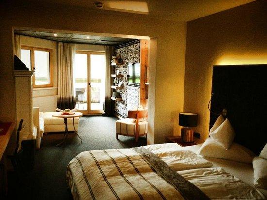 Hotel Jungbrunn - Das Alpine Lifestyle Hotel: Unser Zimmer: Doppelzimmer Alpenglück