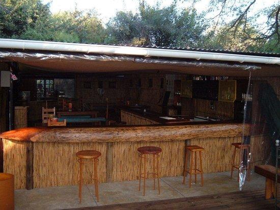 Nguma Island Lodge: Campsite Bar