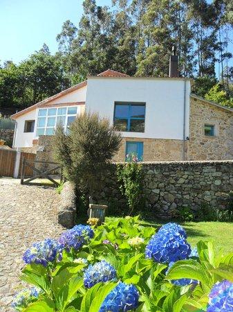 Budino de Serraseca : Parte del jardín