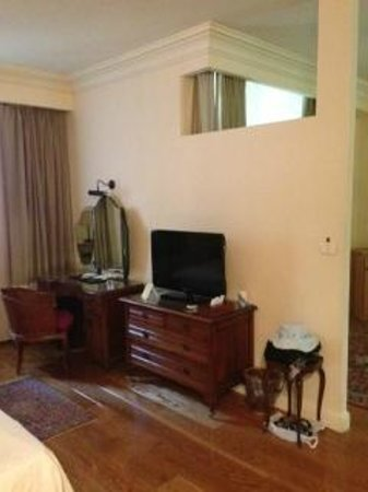 Hotel Mitzpe Hayamim: the room