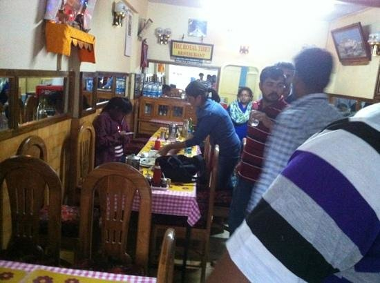 Royal Tibet : small restaurant