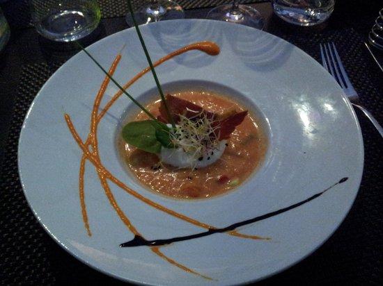Les Agapes : le gaspacho de tomates