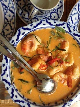 Sisaket : curry shrims