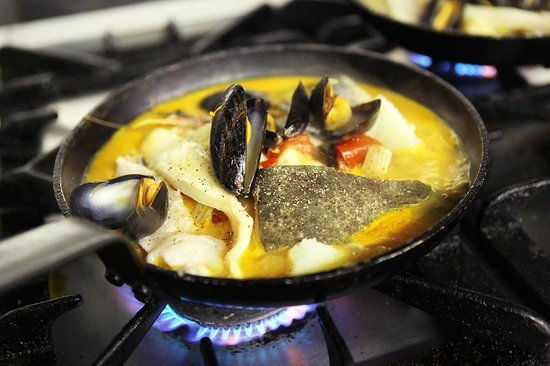 The Shed Fish & Chip Bistro: fish stew