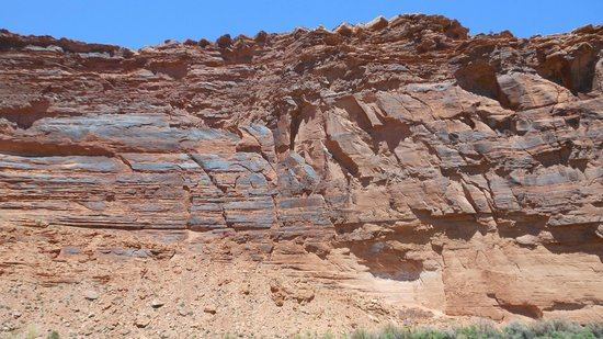 Scenic Byway of Highway 128: Magnificent Cliffs