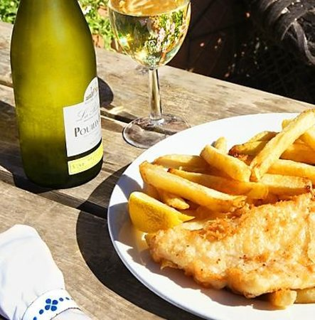 The Shed Fish & Chip Bistro: fish and chips