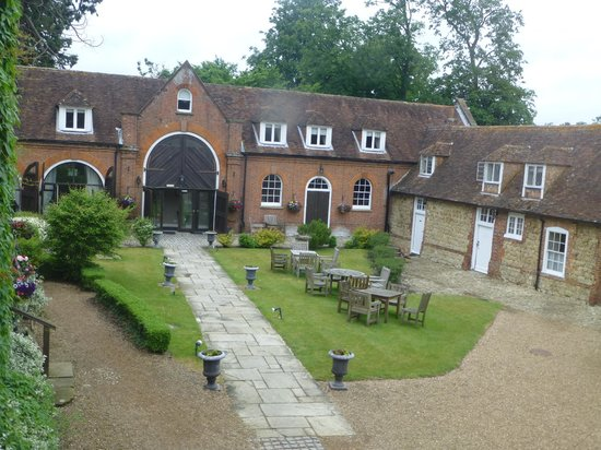 Chilston Park Hotel Courtyard View