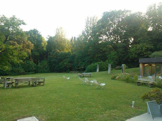 Il Villino: Parco circostante