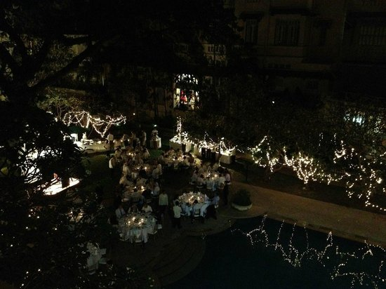 Raffles Hotel Le Royal: Private party going on, but was very quiet