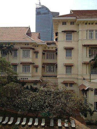 Raffles Hotel Le Royal: View