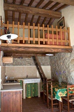 La cucina con soppalco foto di agriturismo podere - Cucina con soppalco ...