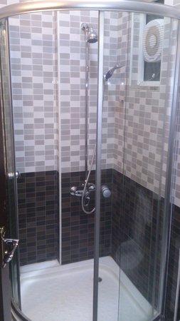 Cedar Hotel: Shower