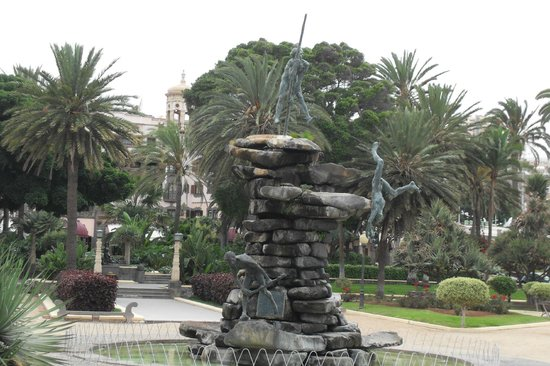 City Sightseeing Las Palmas de Gran Canaria: Las Palmas Fountain