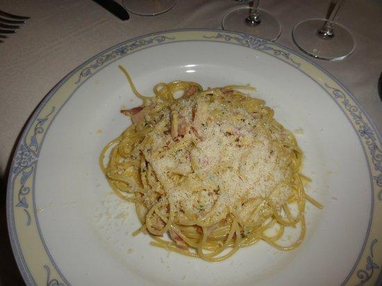 Ristorante L'Arco dei Cappuccini: Spaghetti