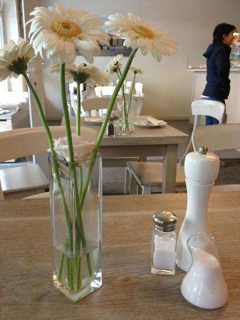 Restaurant Alpenstueck: Table top decoration