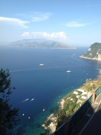 Hotel San Michele: View from balcony
