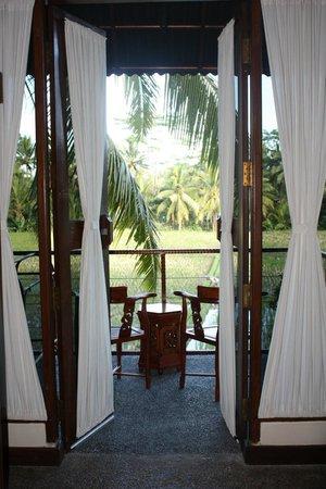 Junjungan Ubud Hotel and Spa: vue de la chambre
