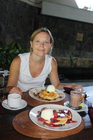 Junjungan Ubud Hotel and Spa: petit dejeuner