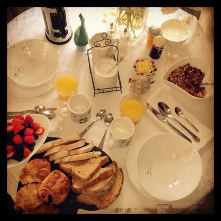The Granary Bed and Breakfast: perfect Breakfast home made