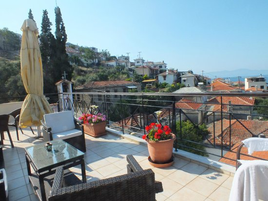 Hotel Katia: Our terrace view - breathtaking !