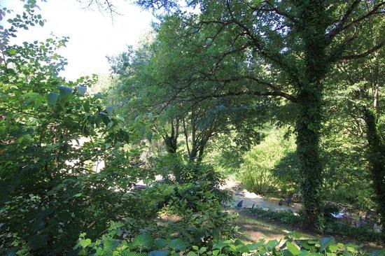 Auberge de l'Aiguebrun : Giardino