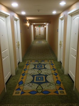 Hampton Inn & Suites Savannah/Midtown: nice hall!