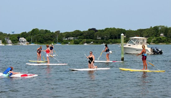 Stand Up & Paddle Cape Cod: AWESOME BUNCH OF WOMEN!
