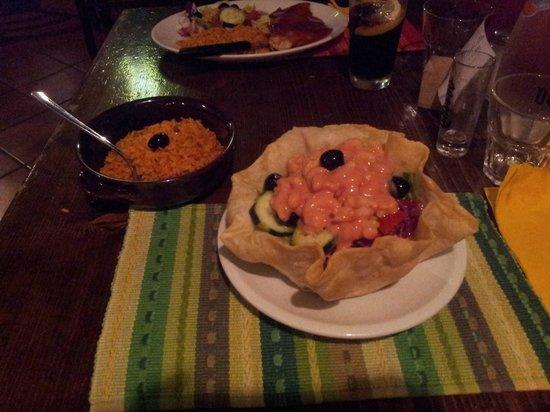 El Tropico Latino : Cocktail di gamberi e riso messicano