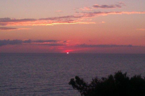 Hotel Sirios Kathisma: Sunset