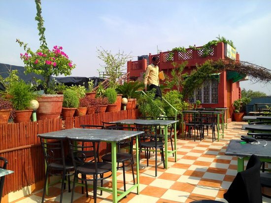 Saniya Palace Inn: beautiful courtyard roof top